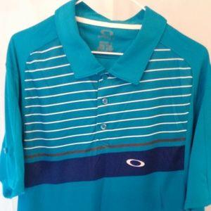 Oakley Athletic Polo Style Shirt (XXL)